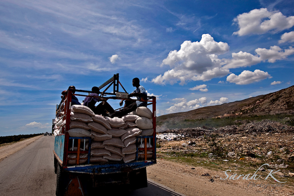 Although Haiti receives food donations from the United States and other countries, because of the lack of jobs and the amount of poverty, many times the donated items are resold rather than given to those who are the most in need.
