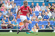 Barnsley midfielder Stefan Payne during the EFL Sky Bet Championship match between Ipswich Town and Barnsley at Portman Road, Ipswich, England on 6 August 2016. Photo by Nigel Cole.