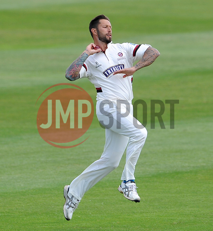 Somerset's Peter Trego - Photo mandatory by-line: Harry Trump/JMP - Mobile: 07966 386802 - 14/06/15 - SPORT - CRICKET - LVCC County Championship - Division One - Day One - Somerset v Nottinghamshire - The County Ground, Taunton, England.