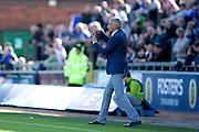 Carlisle United manager Keith Curle during the EFL Sky Bet League 2 match between Carlisle United and Leyton Orient at Brunton Park, Carlisle, England on 10 September 2016. Photo by Craig Doyle.