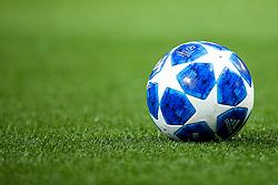 The Champions League ball for the 2018/19 season - Mandatory by-line: Robbie Stephenson/JMP - 19/09/2018 - FOOTBALL - Etihad Stadium - Manchester, England - Manchester City v Lyon - UEFA Champions League Group F