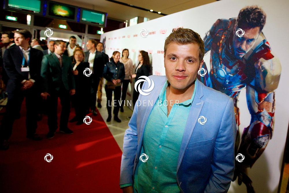 AMSTERDAM - In het Rai theater is de filmpremiere van Iron Man 3. Met op de foto  Jaap Reesema. FOTO LEVIN DEN BOER - PERSFOTO.NU