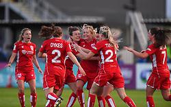 Lily Agg of Bristol City Women celebrates - Mandatory by-line: Paul Knight/JMP - 20/05/2017 - FOOTBALL - Stoke Gifford Stadium - Bristol, England - Bristol City Women v Liverpool Ladies - FA Women's Super League Spring Series