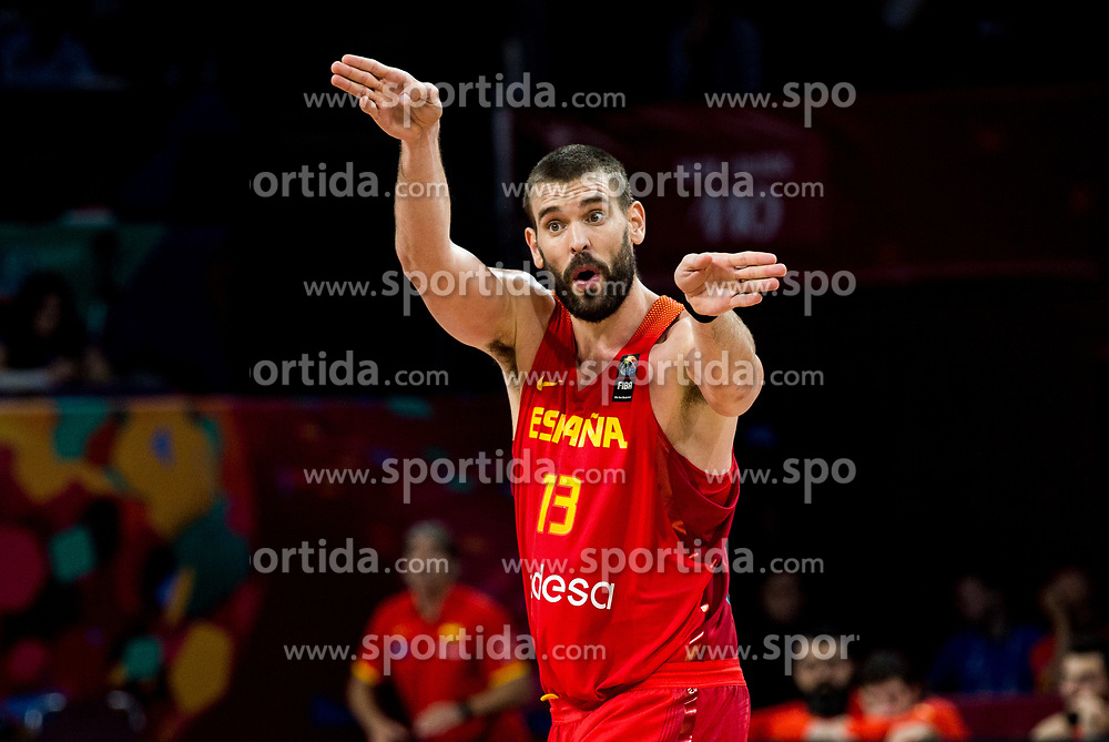 Marc Gasol of Spain during basketball match between National Teams of Germany and Spain at Day 13 in Round of 16 of the FIBA EuroBasket 2017 at Sinan Erdem Dome in Istanbul, Turkey on September 12, 2017. Photo by Vid Ponikvar / Sportida