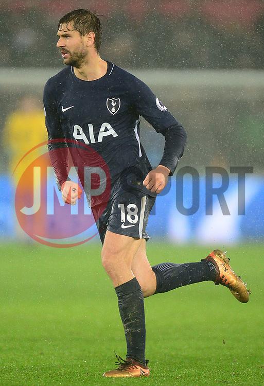 Fernando Llorente of Tottenham Hotspur - Mandatory by-line: Alex James/JMP - 02/01/2018 - FOOTBALL - Liberty Stadium - Swansea, England - Swansea City v Tottenham Hotspur - Premier League