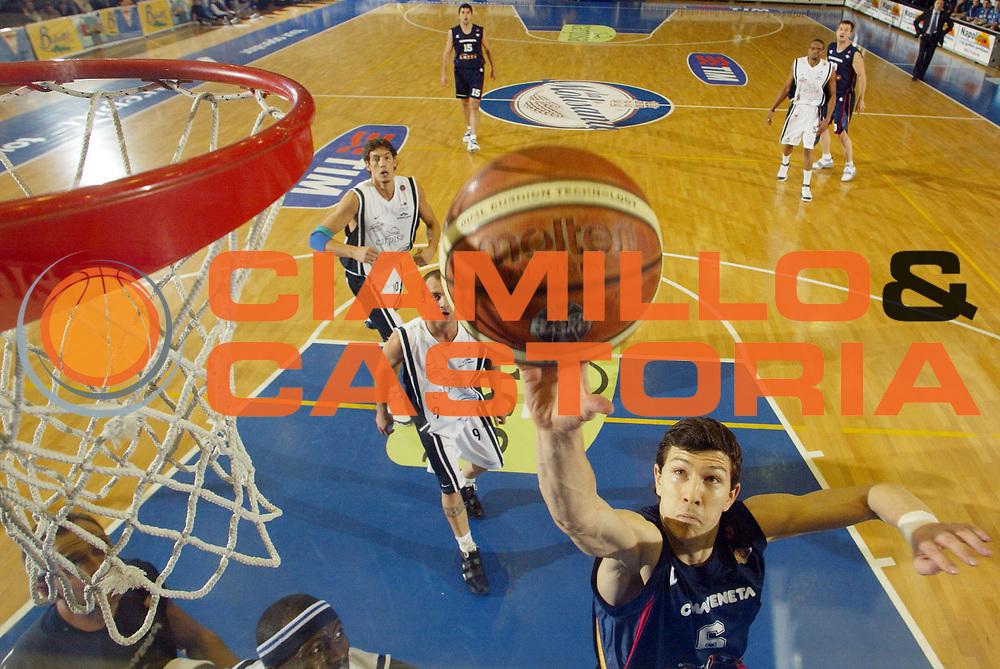 DESCRIZIONE : Napoli Lega A1 2005-06 Carpisa Napoli Basket-Lottomatica Virtus Roma<br /> GIOCATORE : Ilievski<br /> SQUADRA : Lottomatica Virtus Roma<br /> EVENTO : Campionato Lega A1 2005-2006<br /> GARA : Carpisa Napoli Basket Lottomatica Virtus Roma<br /> DATA : 06/01/2006 <br /> CATEGORIA : Special<br /> SPORT : Pallacanestro <br /> AUTORE : Agenzia Ciamillo-Castoria/G.Ciamillo<br /> Galleria : Lega Basket A1 2005-2006<br /> Fotonotizia : Napoli Lega A1 2005-06 Carpisa Napoli Basket Lottomatica Virtus Roma  <br /> Predefinita :