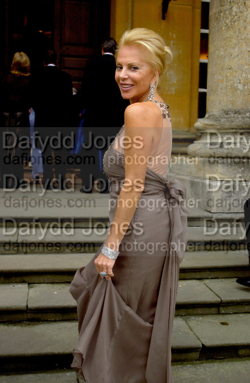 Eva O'Neill, Ball at Blenheim Palace in aid of the Red Cross, Woodstock, 26 June 2004. SUPPLIED FOR ONE-TIME USE ONLY-DO NOT ARCHIVE. © Copyright Photograph by Dafydd Jones 66 Stockwell Park Rd. London SW9 0DA Tel 020 7733 0108 www.dafjones.com