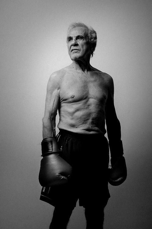 SAO PAULO, BRASIL, 10/09/2010: Eder Jofre, Bantamweight Boxing World Champion.  (photo: Caio Guatelli)