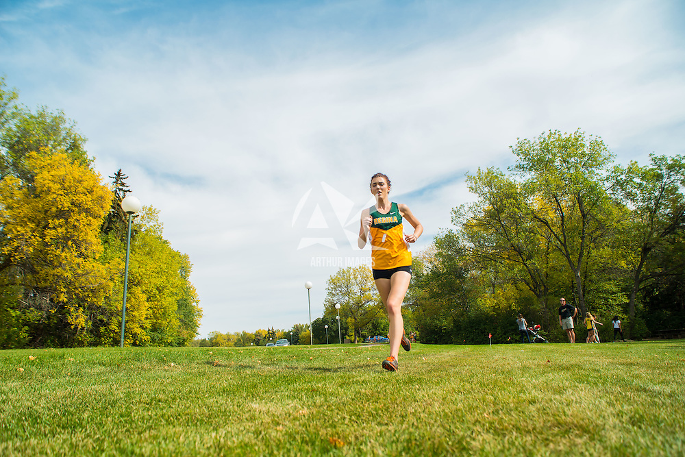 Hillary Mehlhorn competes during the annual Cougar Trot on September 17 at Douglas Park. Credit: Arthur Ward/Arthur Images