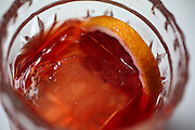 A Negroni cocktail. (Ken Lambert / The Seattle Times)