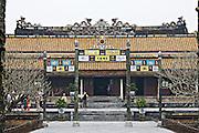 The Citadel. Imperial Enclosure. Thai Hoa Palace.