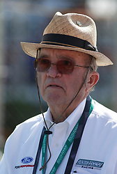April 28, 2018 - Talladega, AL, U.S. - TALLADEGA, AL - APRIL 28: Roush/Fenway co-owner Jack Roush during qualifying for the 27th annual Sparks Energy 300 on Saturday April 28, 2018 at Talladega Superspeedway in Talladega, Alabama (Photo by Jeff Robinson/Icon Sportswire) (Credit Image: © Jeff Robinson/Icon SMI via ZUMA Press)