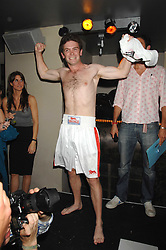 JAMES MEADE at the weigh-in party for the Boodles Boxing Ball held at Kitts 7-12 Sloane Square, London on 29th May 2008.<br /> <br /> NON EXCLUSIVE - WORLD RIGHTS