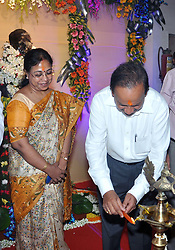 May 4, 2017 - Kolkata, West Bengal, India - Union Minister of Science and Technology and Ministry of Earth Sciences, Harsh Vardhan inaugurated National Atlas and Thematic Mapping Organization new building ''Rashtriya Atlas Bhavan'' in Kolkata on May 4, 2017. (Credit Image: © Saikat Paul/Pacific Press via ZUMA Wire)