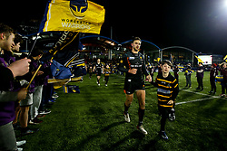 Ashley Beck of Worcester Warriors - Mandatory by-line: Robbie Stephenson/JMP - 17/01/2020 - RUGBY - Sixways Stadium - Worcester, England - Worcester Warriors v Castres Olympique - European Rugby Challenge Cup