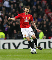 20090415: PORTO, PORTUGAL - FC Porto vs Manchester United: Champions League 2008/2009 – Quarter Finals – 2nd leg. In picture: Carrick . PHOTO: Manuel Azevedo/CITYFILES