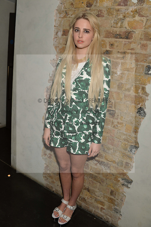 Singer LAUREL (Laurel Arnell-Cullen) at the Lancôme pre BAFTA party held at The London Edition, 10 Berners Street, London on 14th February 2014.