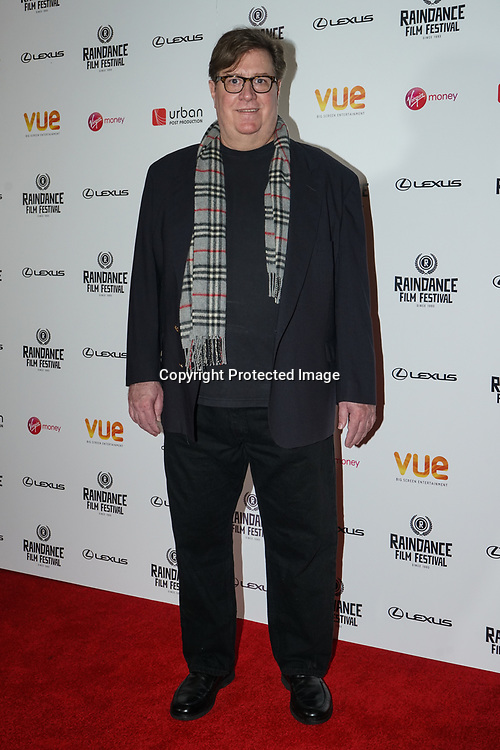 London, England, UK. 21th September 2017. writter/actor: 'I'm Not Here' Tony Cummings attend Raindance Film Premiere of 'I'm Not Here', starring J.K. Simmons