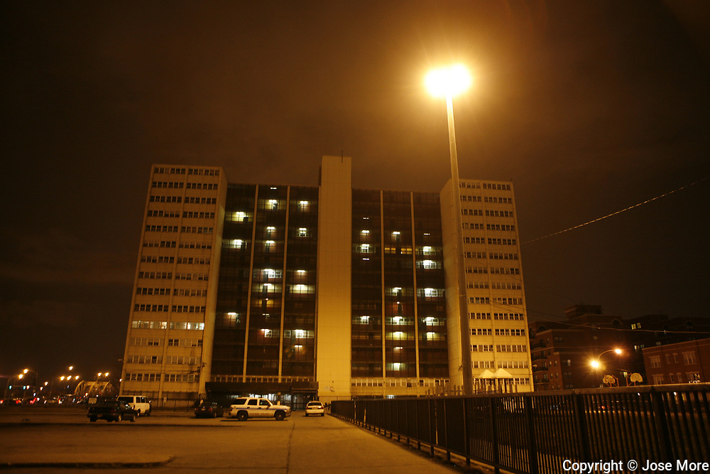 The Ricks family was the last remaining tenant living at Chicago Housing Authority's Cabrini Green public housing building at 1230 N. Burling Street in Chicago.<br /> Photography by Jose More