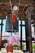 Pagoda bell house located in Hirosaki northern Japan.