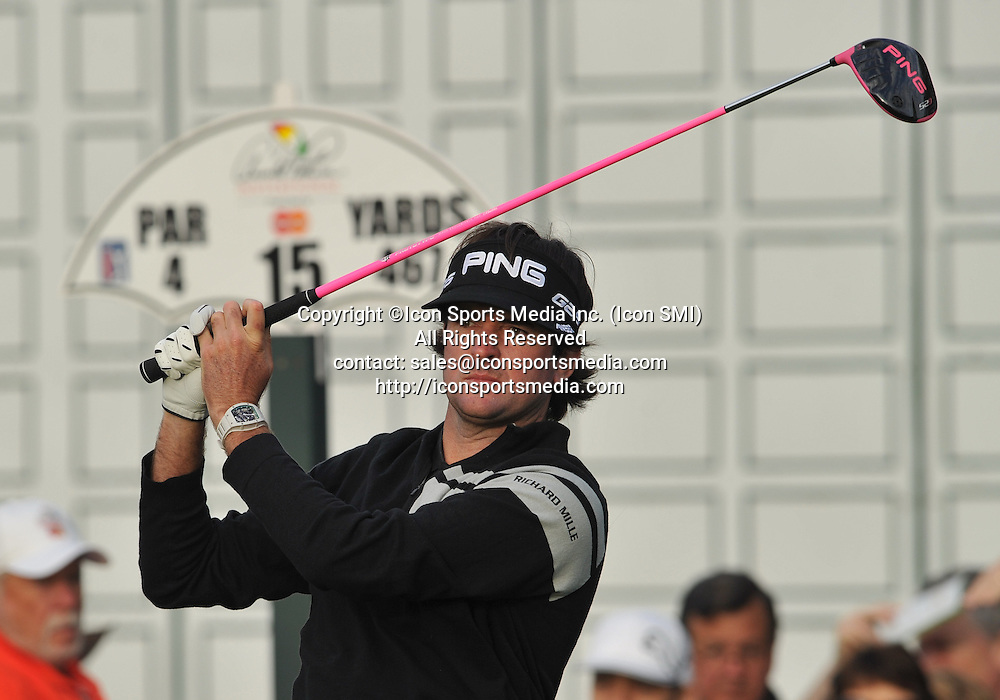 22 March 2013: Bubba Watson during the second round of the Arnold Palmer Invitational at Arnold Palmer's Bay Hill Club & Lodge in Orlando, Florida.Orlando, Florida.
