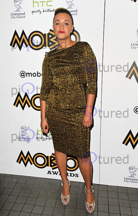 LONDON - SEPTEMBER 17: Gemma Cairney attended the Nominations Launch of the MOBO Awards at Floridita London, UK. September 17, 2012. (Photo by Richard Goldschmidt)