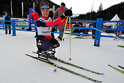 McFADDEN Tatyana, USA at the 2014 IPC Nordic Skiing World Cup Finals - Middle Distance