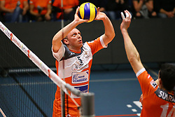 20160402 BEL: Volleybal: Volley Lindemans Asse Lennik - Noliko Maaseik, Zellik  <br />Frank Depestele