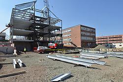 East Elevation. Central Connecticut State University. New Academic Building. Project No: BI-RC-324. Architect: Burt Hill Kosar Rittelmann Associates. Contractor: Gilbane, Inc.