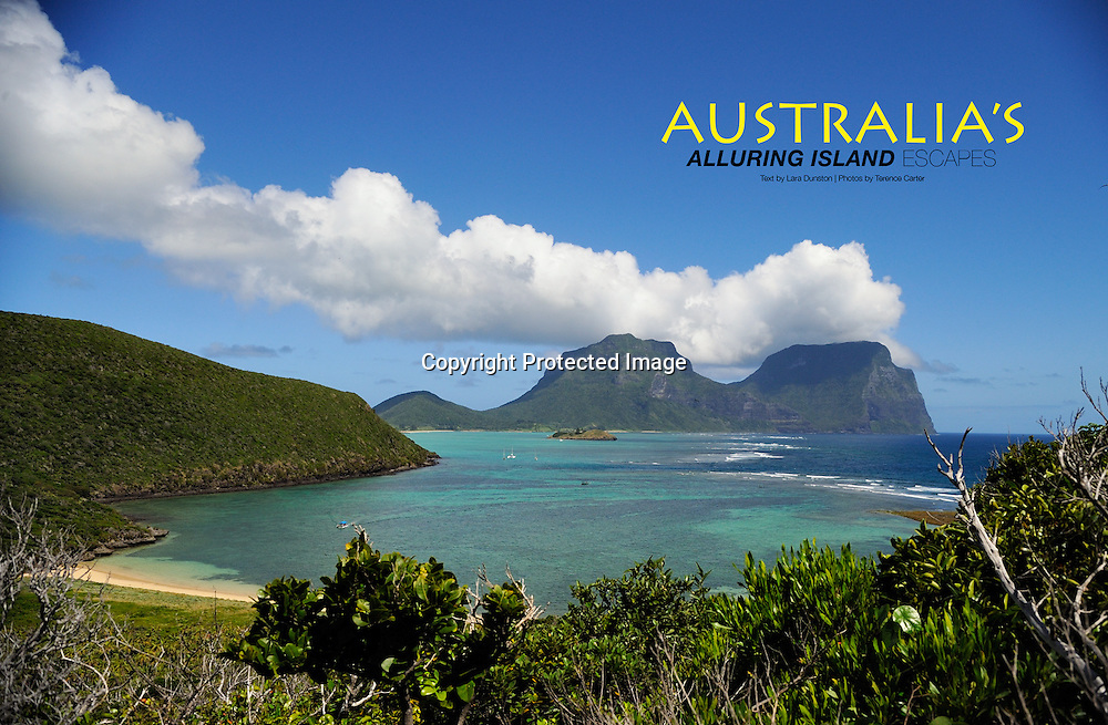Lifestyle+Travel Magazine feature on Australia's Islands.