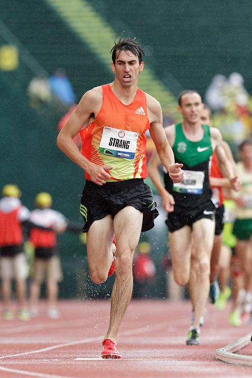 Olympic Trials Eugene 2012: men's 10,000 meter final, Strang