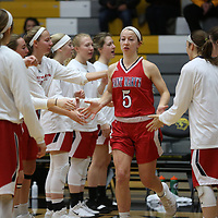 Women's Basketball: University of Wisconsin-Oshkosh Titans vs. Saint Mary's University of Minnesota Cardinals