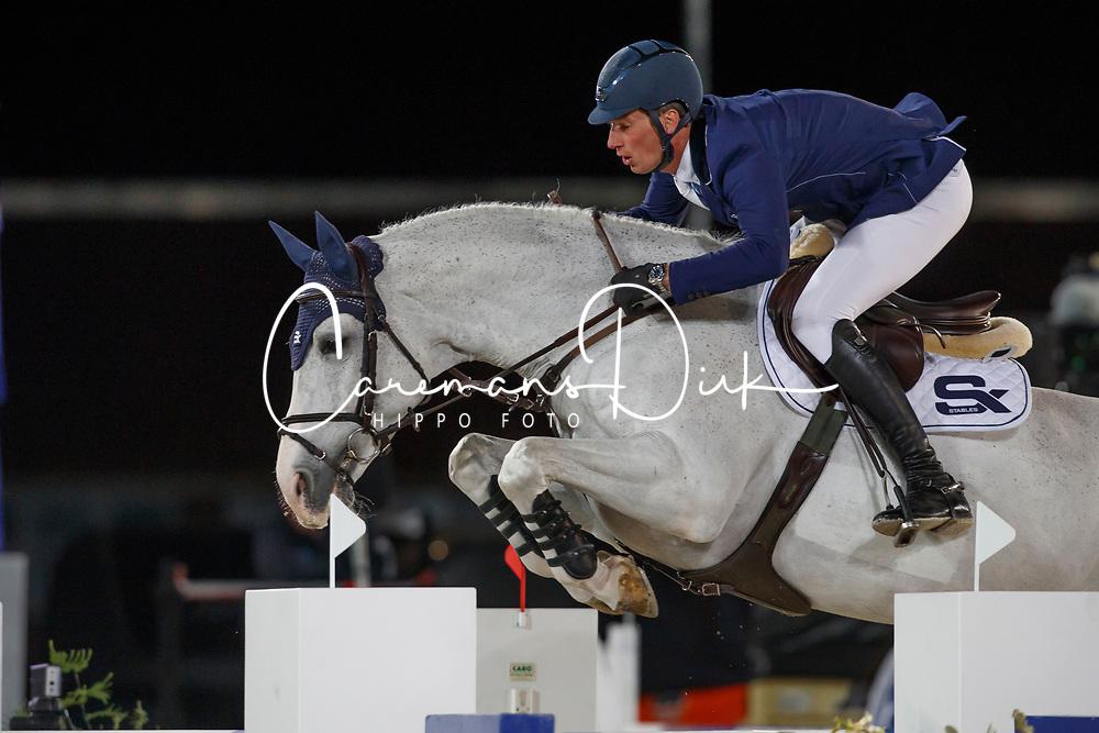 Deusser Daniel, GER, Cornet D Amour<br /> CSI5* Grand Prix Final<br /> Jumping Antwerpen 2017<br /> © Hippo Foto - Dirk Caremans<br /> 22/04/2017