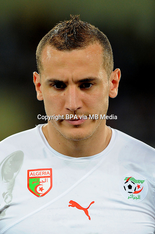 Football Fifa Brazil 2014 World Cup / <br /> Algeria National Team - <br /> Hassan YEBDA of Algeria