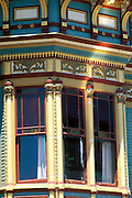Victorian detail on Main Street, Ferndale, California.