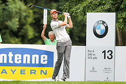 27.06.2015, Golfclub München Eichenried, Muenchen, GER, BMW International Golf Open, Tag 3, im Bild Anton Kirstein (GER) am Abschlag // during the day three of BMW International Golf Open at the Golfclub München Eichenried in Muenchen, Germany on 2015/06/27. EXPA Pictures © 2015, PhotoCredit: EXPA/ Eibner-Pressefoto/ Kolbert<br /> <br /> *****ATTENTION - OUT of GER*****