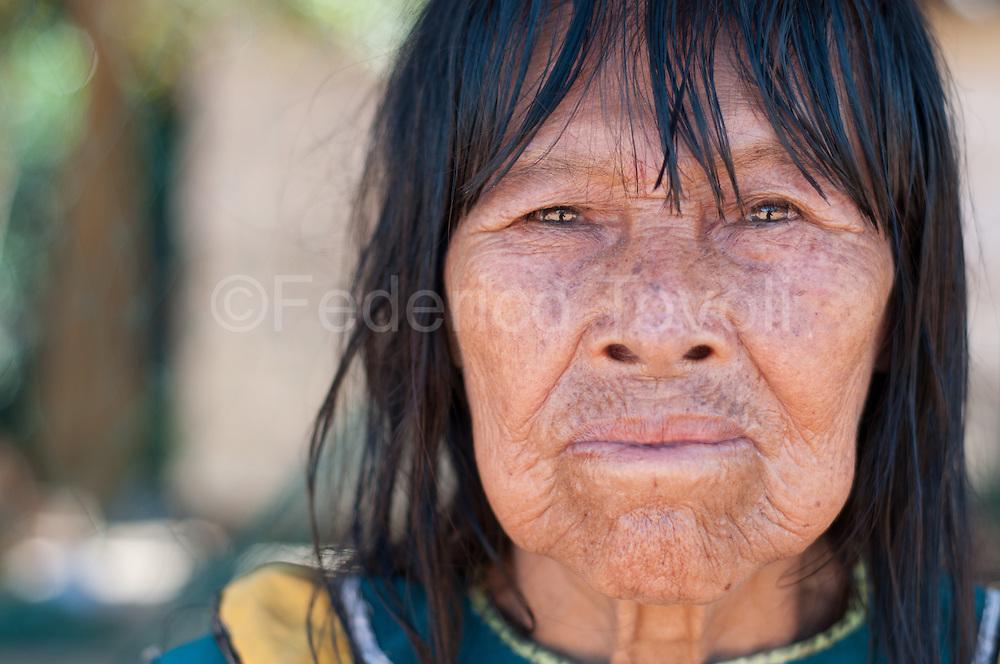 Shipibo woman, comunidad Caco Macaya, Alto Ucayalli