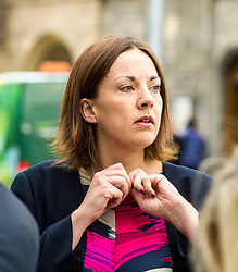 Pictured: Kezia Dugdale<br /> <br /> Stillbirth and neonatal death charity  launched their awareness month campaign today in Edinburgh. The #15babiesaday drive by Sands aims to highlight the fact 15 babies a day in the UK die shortly before, during or after birth.  MSPs Neil Findlay, Kezia Dugdale, Angela Constance, Ian Gray among others joined bereaved parents at its Scottish Parliament launch today.<br /> <br /> Ger Harley | EEm 15 June 2017