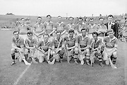 Kerry Team. Special Hurling Comp. Westmeath v Kerry..Winners - Westmeath..24.08.1952  24th August 1952