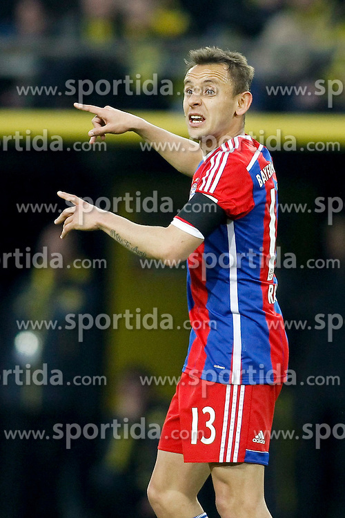 04.04.2015, Signal Iduna Park, Dortmund, GER, 1. FBL, Borussia Dortmund vs FC Bayern Muenchen, 27. Runde, im Bild Rafinha (FC Bayern Muenchen #13) // during the German Bundesliga 27th round match between Borussia Dortmund and FC Bayern Muenchen at the Signal Iduna Park in Dortmund, Germany on 2015/04/04. EXPA Pictures &copy; 2015, PhotoCredit: EXPA/ Eibner-Pressefoto/ Sch&uuml;ler<br /> <br /> *****ATTENTION - OUT of GER*****