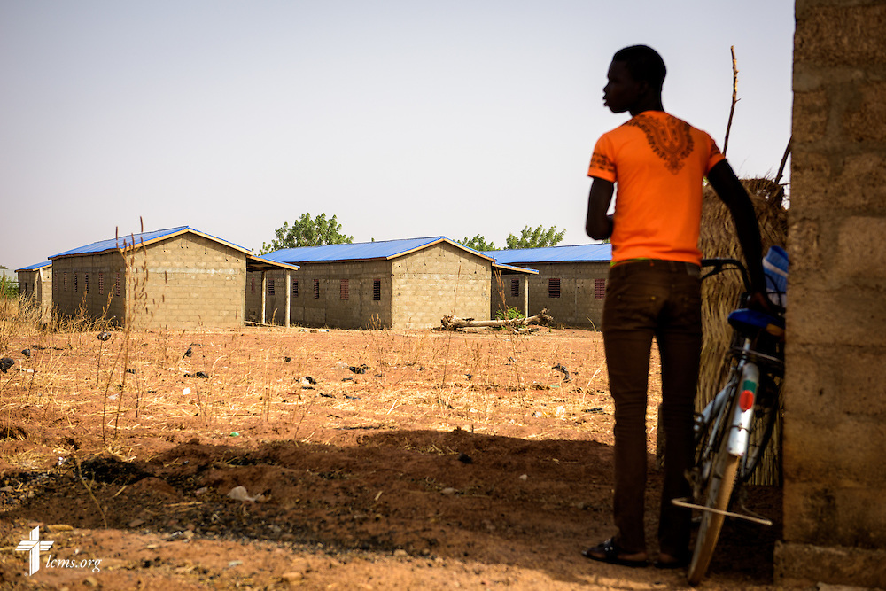 Dormitories under construction for students and families of the Lutheran Center for Theological Studies (CLET) on Wednesday, Feb. 15, 2017, in Dapaong, Togo. LCMS Communications/Erik M. Lunsford