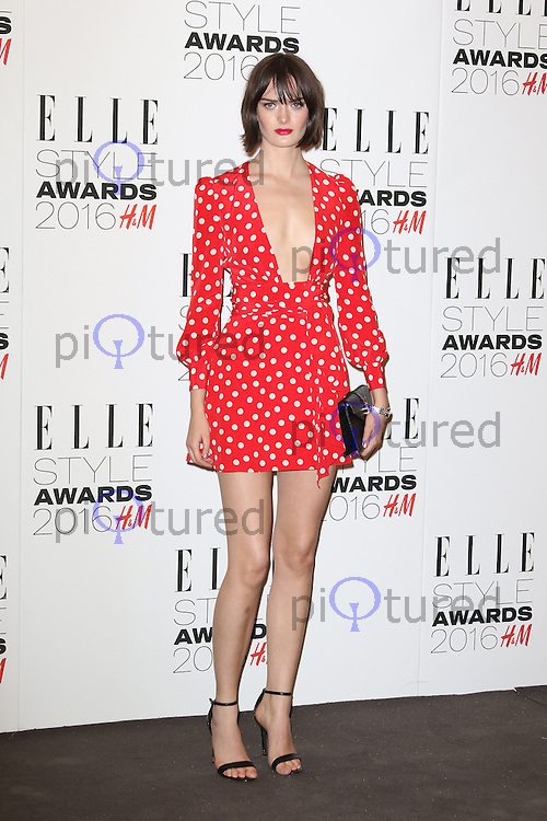 Sam Rollinson, ELLE Style Awards 2016, Millbank London UK, 23 February 2016, Photo by Richard Goldschmidt