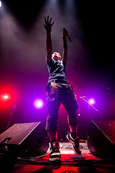 Ed Sheeran play the Goldenvoice Arena tent..Rockness 2012..©Michael Schofield..