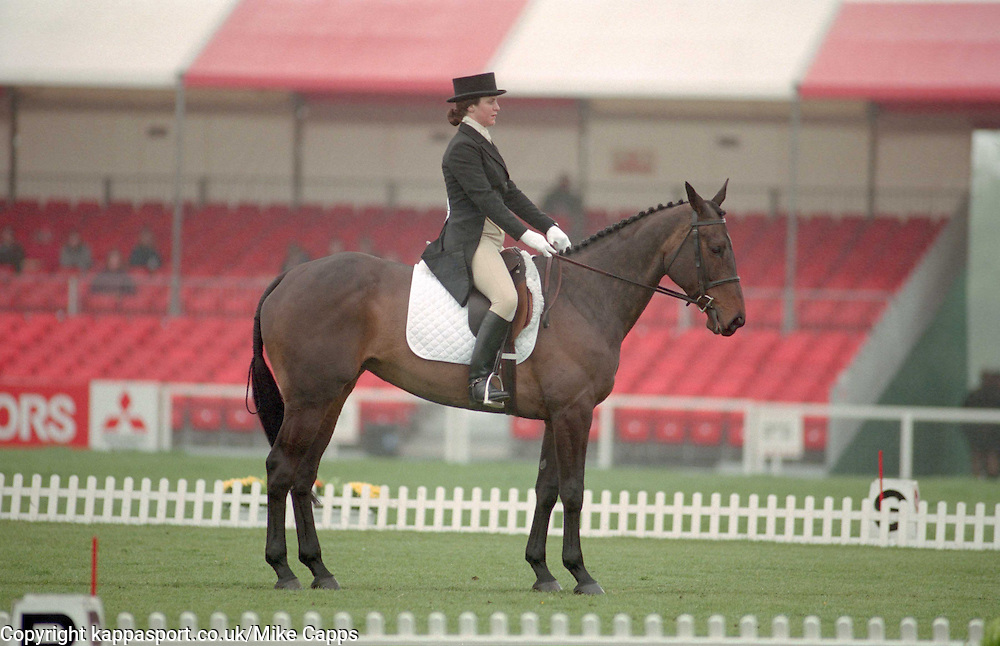 MISS  RACHAEL CHADDOCK O LAST OF THE INCAS, Mitsubishi Badminton Horse Trials, Three Day Event Dressage, May 6th 1994