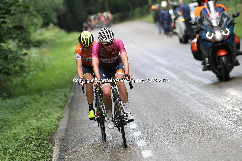 02-09-2017: Wielrennen: Boels Ladies Tour: Vaals: Annemiek vam Vleuten; Anna van der Breggen