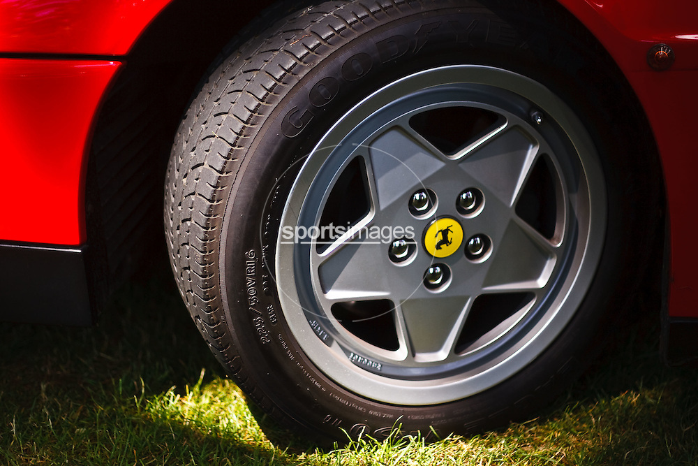 Wheels of a Ferrari Testerosa at Gloucester Motorshow (13/6/10)