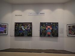 June 14, 2017 - Pasay City, Philippines - Works of award-winning visual artists Nune Alvarado was showcased inside S Maison Mall art gallery. Nune Alvarado is active on the Southeast Asian art scene since the beginning of 1970. (Credit Image: © Sherbien Dacalanio/Pacific Press via ZUMA Wire)