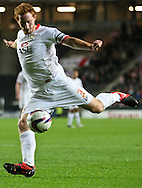 Picture by David Horn/Focus Images Ltd +44 7545 970036.25/09/2012.Dean Lewington, Captain of Milton Keynes Dons during the Capital One Cup match at stadium:mk, Milton Keynes.
