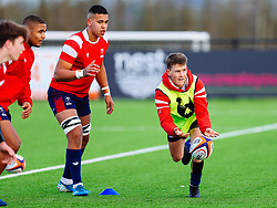 JJ Williams of Bristol Bears U18 - Rogan/JMP - 14/12/2019 - RUGBY UNION - Shaftesbury Park - Bristol, England - Bristol Bears U18 v Bath Rugby U18 - Premiership Rugby U18 Academy League.