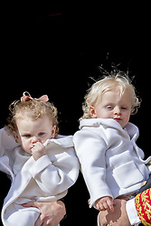 Prinz Jacques und Prinzessin Gabriella bei den Feierlichkeiten zum Nationalfeiertag in Monaco / 191116<br /> <br /> ***National Day in Monaco, November 19th, 2016***